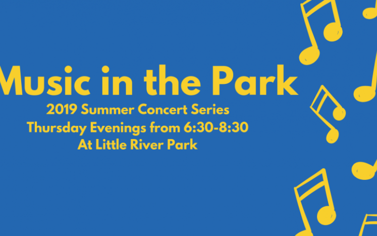 Rec Commission Music in the Park Logo